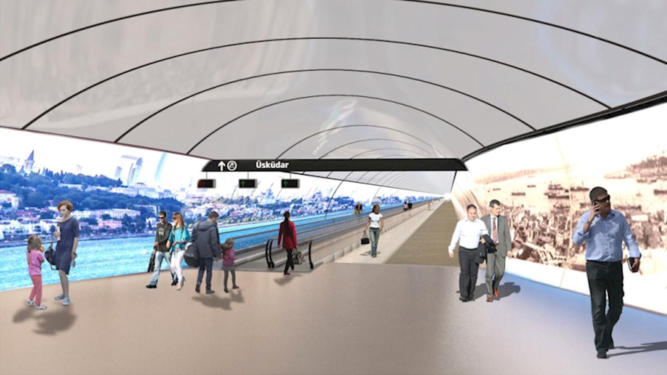 İstanbul Yaya Tüneli Projesi