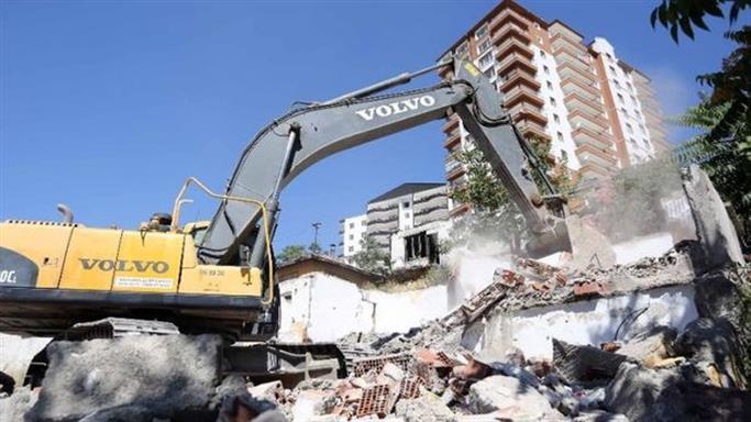Ankara Yamaçevler'de Kentsel Dönüşüm Başladı
