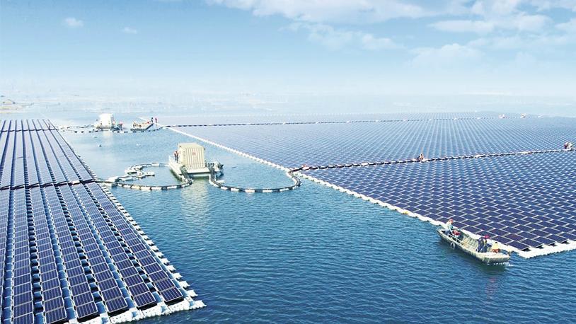 İlk 'Yüzer Güneş Enerji Santrali' Kuruluyor