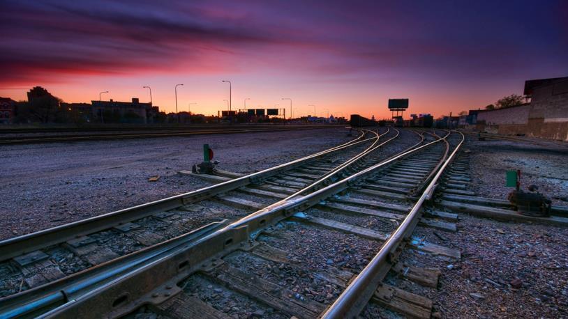 Demiryolu Yapımı Hızla Devam Ediyor