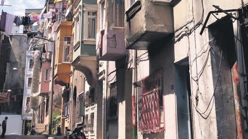 Beyoğlu'nun Tarihi Evleri Yenileniyor