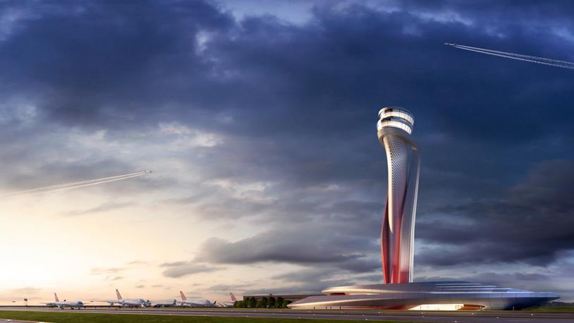 3. Havaalanı Kulesinde Kaba İnşaat Tamamlandı