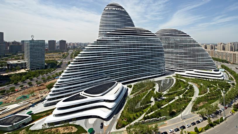 Wangjing Soho Mimarisiyle Büyülüyor