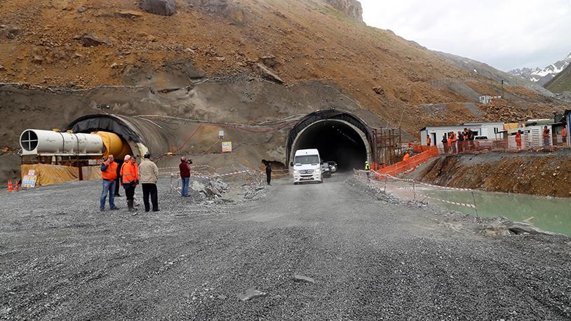 Ovit Tüneli Yıl Sonu Hizmete Giriyor