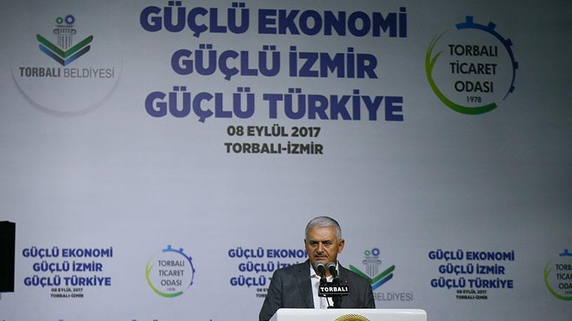 Başbakan Yıldırım İzmir'in Çılgın Projesini Anlattı