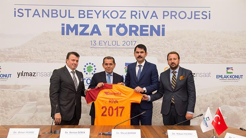 Galatasaray'ın Riva Arazisi İçin İmzalar Atıldı