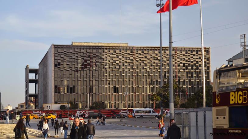 Taksim'e 2 Bin 500 Kişilik Opera Binası