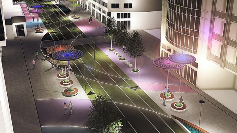 Antalya'da Kentsel Tasarım Projesi'ne Başlandı