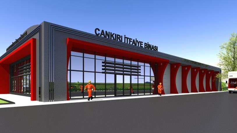 Çankırı'ya Yeni İtfaiye Binası Geliyor