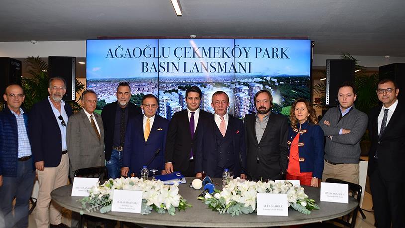 Ağaoğlu, Çekmeköy Park Projesini Basına Tanıttı
