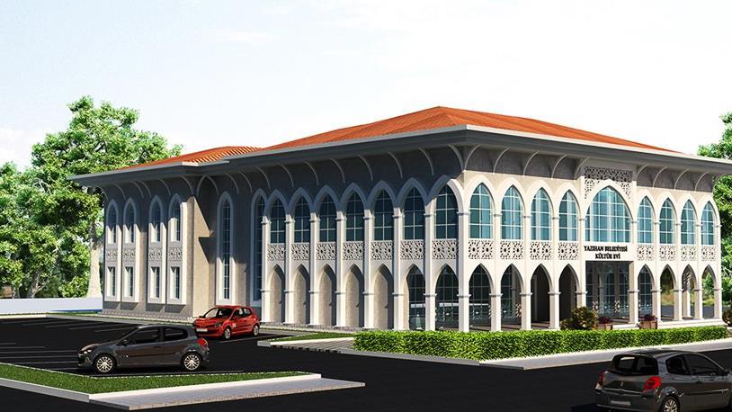 Yazıhan Kültür Merkezi Tamamlandı