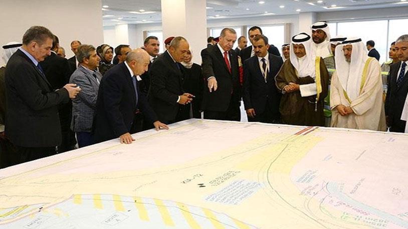 Cumhurbaşkanı Erdoğan Kuveyt Havalimanı'nı İnceledi
