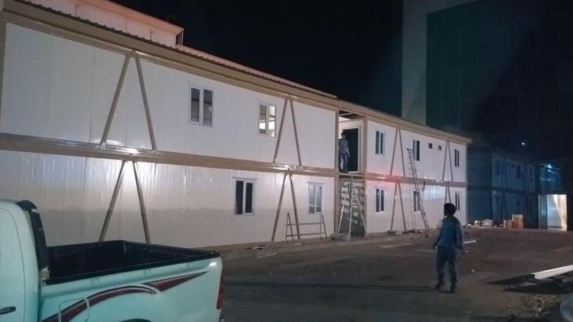 Karmod Prefabrik'ten Arabistan'a Poliklinik