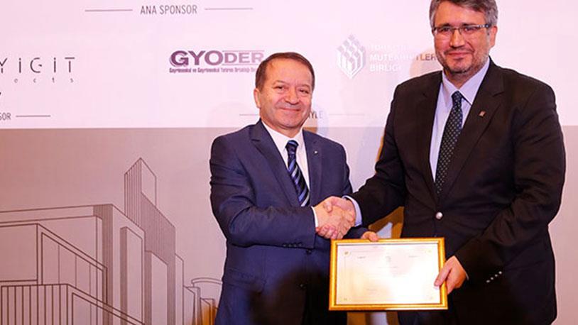 Türkiye'nin Gayrimenkul Liderleri Töreninde Seha Yapı Ödül Aldı!