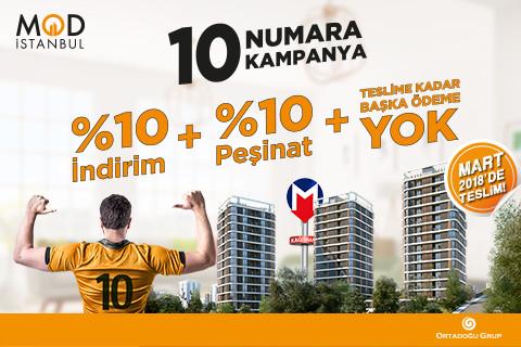 10 Numara Kampanya...