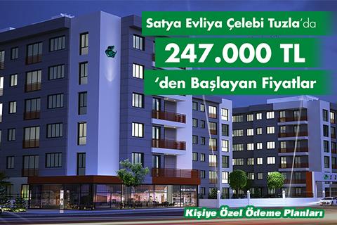 Kişiye Özel Fırsatlar Satya Evliya Çelebi Tuzla'da!