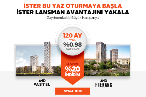 Fırsatlar AND Pastel' de...