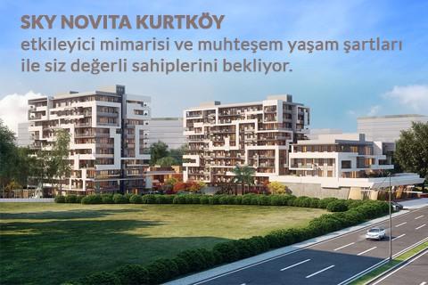 Sky Novita Kurtköy'de Değer Hiç Düşmüyor