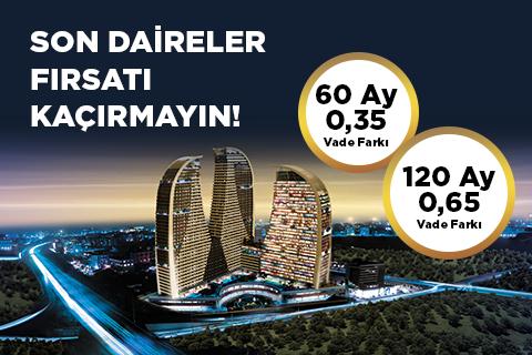 Sembol İstanbul'da Son Daireler Fırsatı Kaçırmayın!