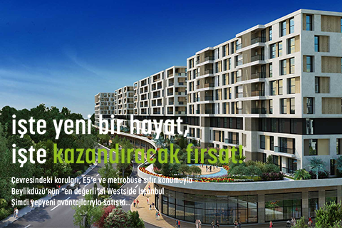 West Side İstanbul, hayat buluyor